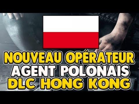 DLC HONG KONG : NEW AGENT (POLOGNE) - RAINBOW SIX SIEGE
