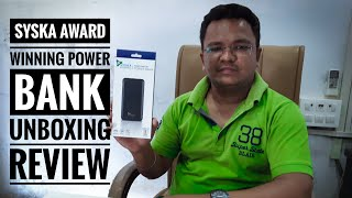 Syska New Award Winning Power Bank Syska P1017 (10,000Mah)
