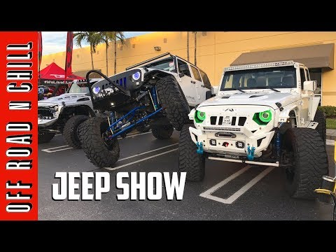 Jeep Show | When Jeep Wranglers JK get together