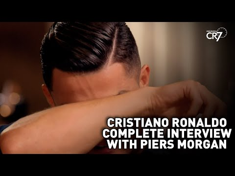 Cristiano Ronaldo complete interview with Piers Morgan of the British TV ITV.