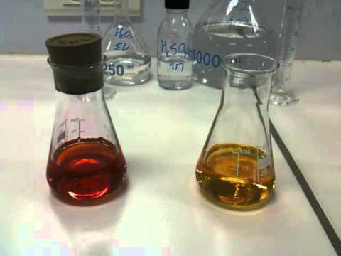 Oxydation des ions iodures par l 39 eau oxyg n e h2o2 5v for Combien coute de l eau oxygenee