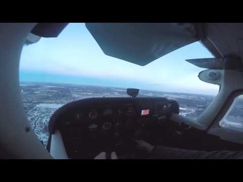 VFR Student Pilot First Solo Flight At Anoka-County Blaine Airport (KANE)