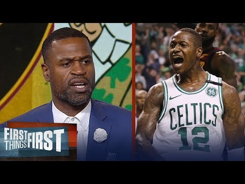 Stephen Jackson on how Boston Celtics dominated LeBron's Cavs in Game 2 | NBA | FIRST THINGS FIRST