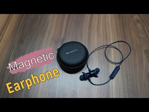 0f8160e9e33 Amkette Urban Budz 600 Sports Bluetooth Magnetic Earphones for Rs. 2,799 -  YouTube