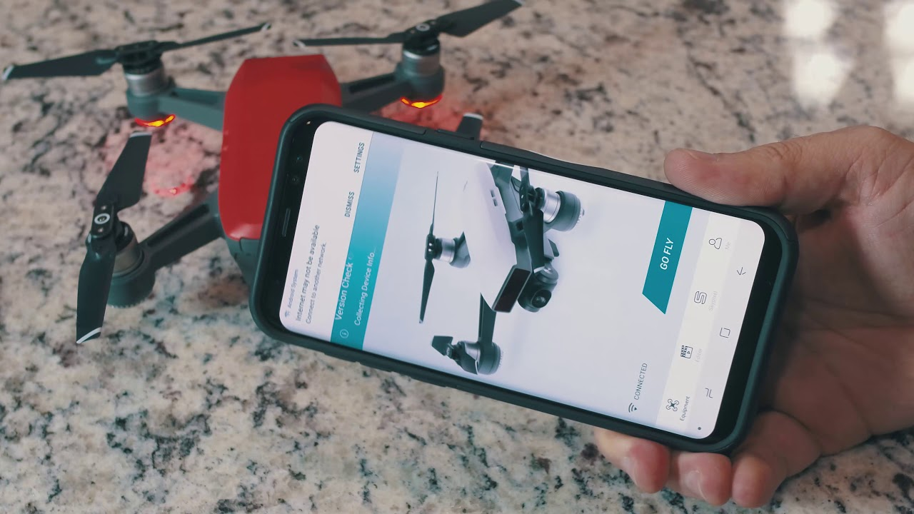 Unlink the RC from DJI Spark -- How to get flying with your phone via Wi-Fi