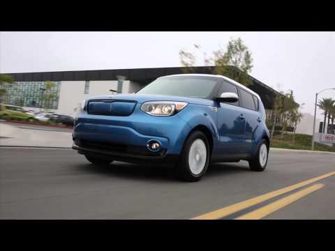 2015 Kia Soul EV Driving Footage