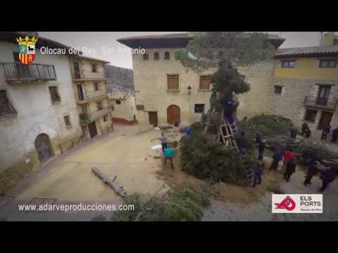 Olocau del Rey - San Antonio, hogueras, Els Ports, cerca de Morella y Forcall