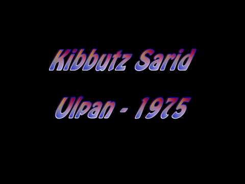 Kibbutz Sarid Ulpan 1975 - A personal experience