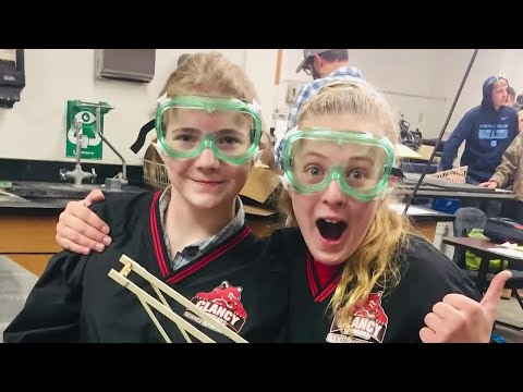 Clancy School takes 3rd overall in Science Olympiad