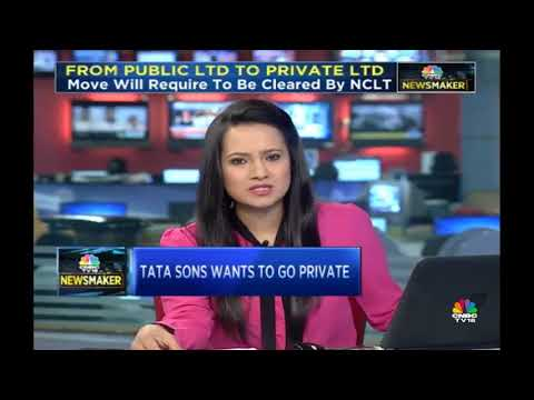 Tata Sons Plans To Go Private | CNBC-TV18 Newsmaker