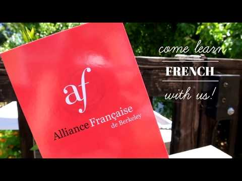 Come Learn French at the Alliance Française de Berkeley
