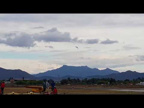 Top Rc Models Hawker Hunter take off and landing Robertson South Africa