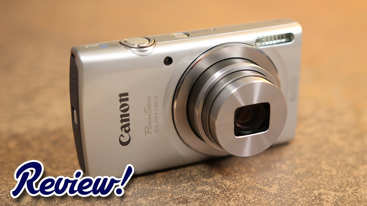 Canon Powershot Elph 180 Review New For 2016 Youtube Ixus 175 Silver