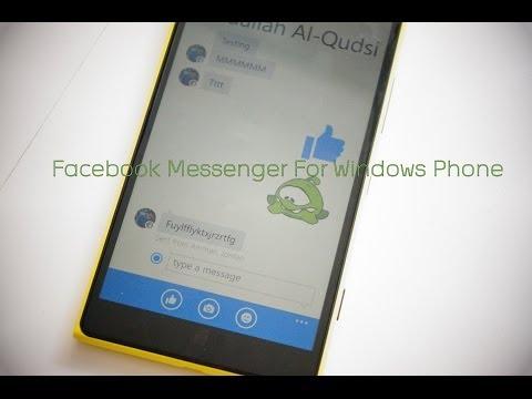 Facebook Messenger for Windows Phone