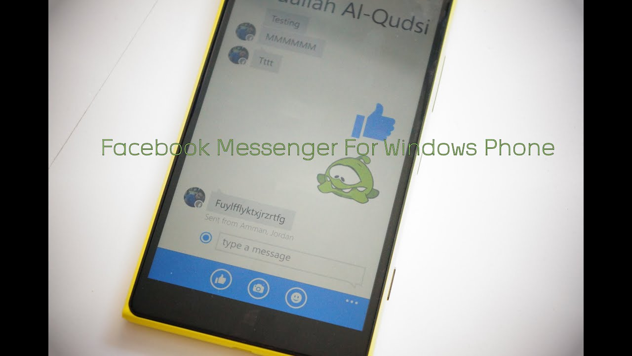 Facebook messenger for windows phone youtube ccuart Image collections