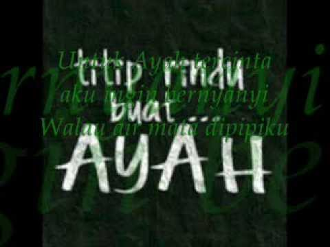 Peterpan Ayah feat Candil (Lirik Video)