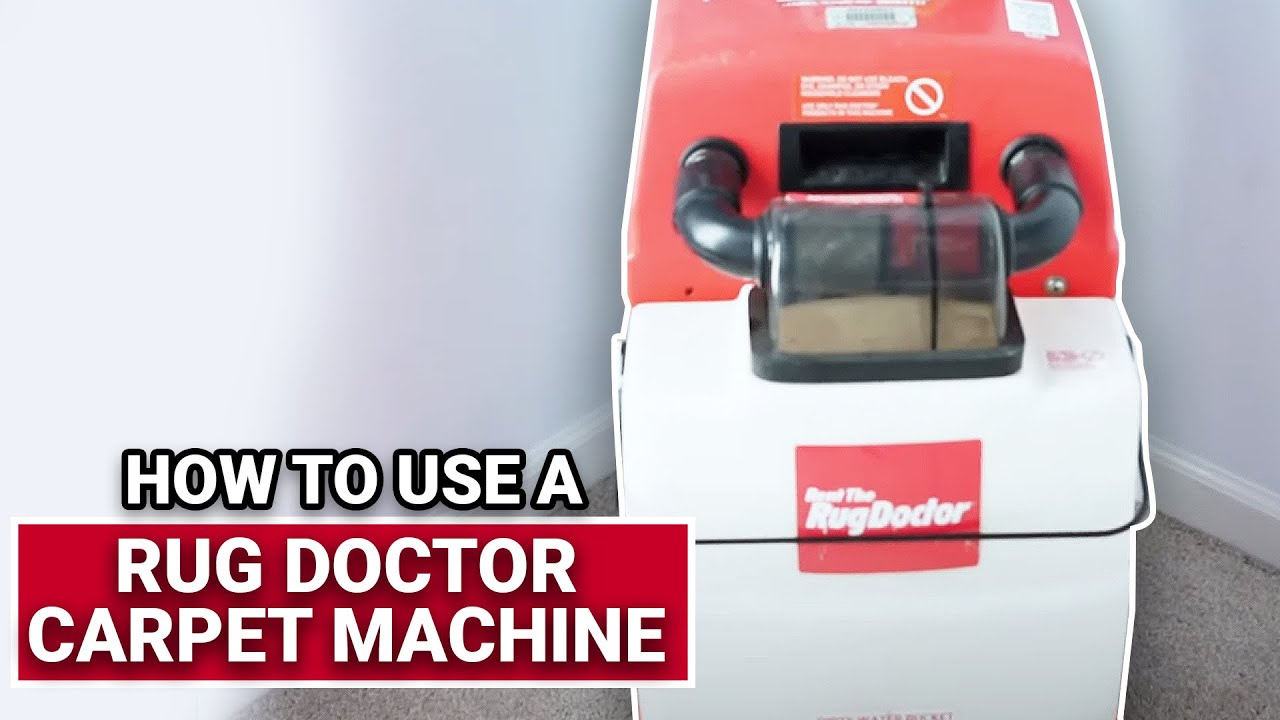 How To Use A Rug Doctor Carpet Machine - Ace Hardware