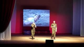 Офигенный рэп про войну, все в зале офигели!