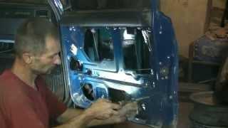 Рихтовка ВАЗ 2107. Часть 2 .Кузовной ремонт