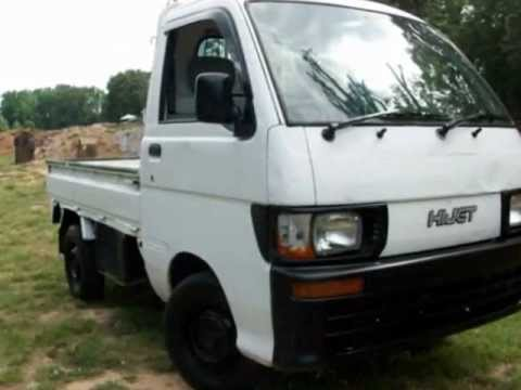 japanese mini truck for sale daihatsu 4x4 youtube. Black Bedroom Furniture Sets. Home Design Ideas