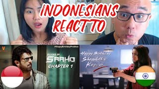 Indonesians React To SAAHO Chapter 1 + SAAHO Chapter 2 | Prabhas