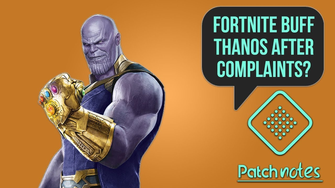 Fortnite Buff Thanos, What Are Bethesda Teasing? | Patch Notes