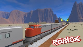 ROBLOX Train Crashes and Derailments