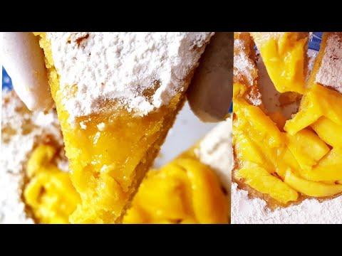 Easy Mango Cake Recipe Without Oven/Eggless Mango Cake /How To Make Testy Mango Cake /আম এর কেক