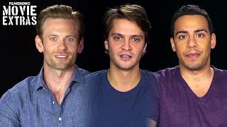 Fifty Shades Darker | On-set visit with Eric Johnson, Luke Grimes & Victor Rasuk