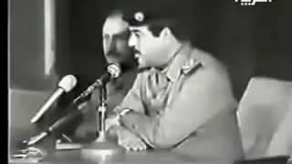 صدام حسين يطرد الشيعة لعن الله ابو هالشواااارب