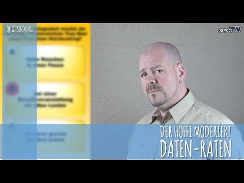 Der Hoffi Moderiert - Daten-Raten Das Quiz Teil 1