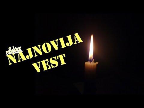 Tuga u Srbiji  - Ppreminuo je naš legendarni pisac