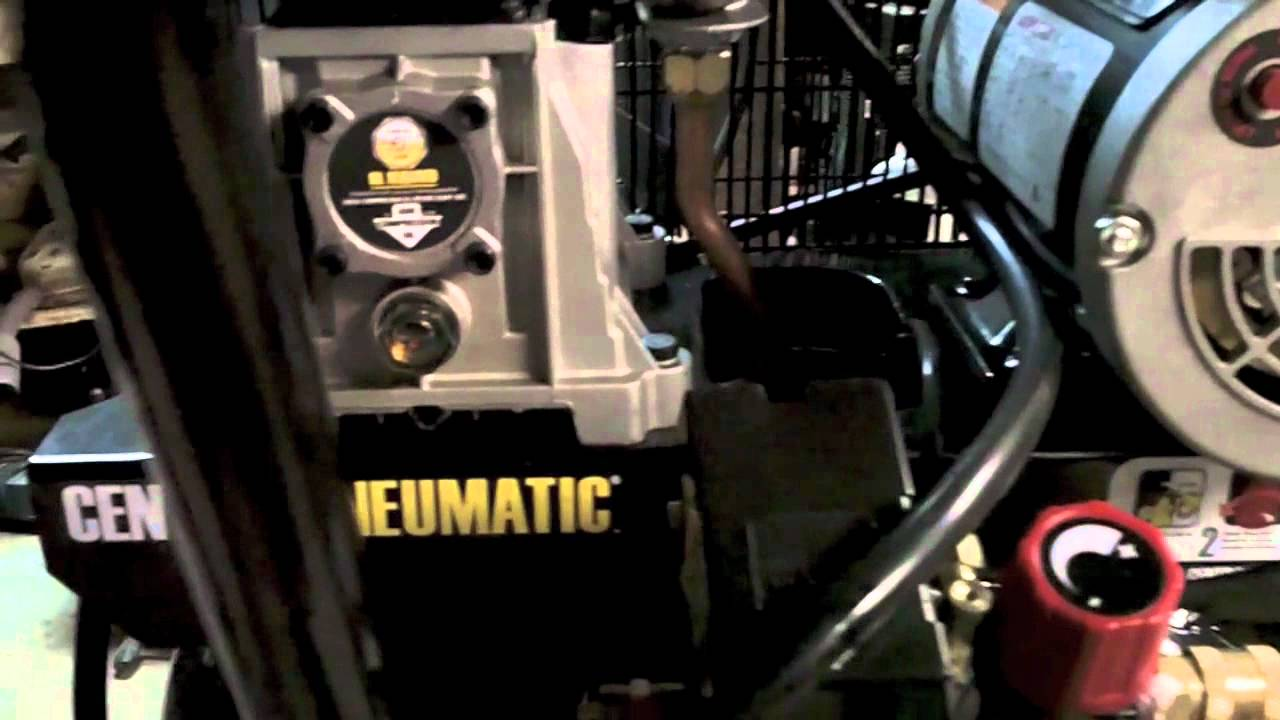 Proper Break In Of Harbor Freight Central Pneumatic 29
