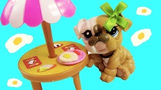 Lps Eggs & Bacon - Mommies Part 32 Littlest Pet Shop Series Movie Lps Mom Babies