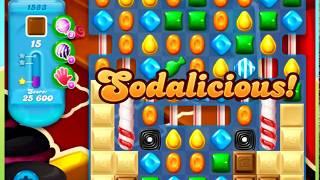 Candy Crush Soda Saga Level 1583 - NO BOOSTERS ***