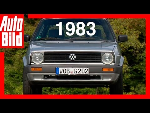vw golf 2 1983 der generations countdown test. Black Bedroom Furniture Sets. Home Design Ideas