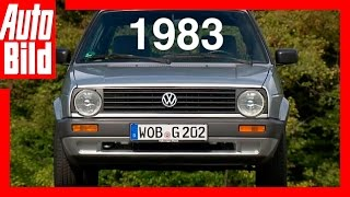VW Golf 2 (1983): Der Generations-Countdown - Review - Fahrbericht - Test