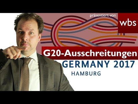 G20: BILD fahndet nach Randalierern - ist das erlaubt?   Rechtsanwalt Christian Solmecke
