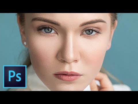 High-End Skin Retouching