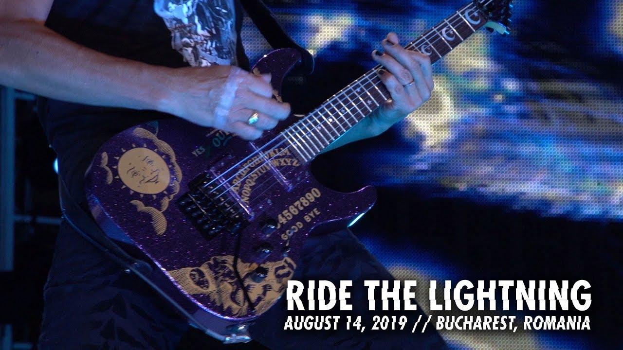Metallica: Ride the Lightning (Bucharest, Romania - August 14, 2019)