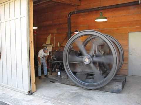 1904 Corliss Gas Engine start up