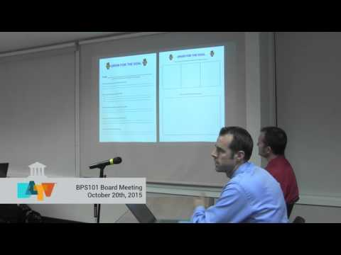 BPS101 Meeting October 20th 2015