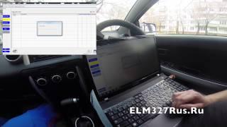 диагностика Toyota IST с помощью адаптера Toyota TIS Mini VCI