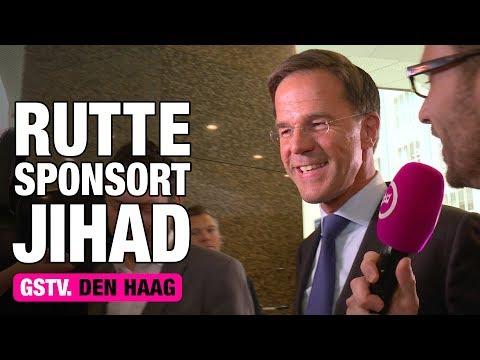 GSTV. Rutte sponsort terroristen met Nederland belastinggeld