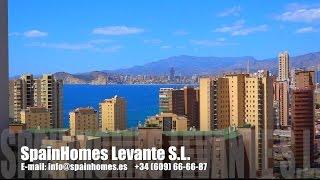 Квартира у пляжа Poniente в Бенидорме - Коста Бланка, Испания. Продажа квартир в Испании у моря(, 2015-05-11T12:56:40.000Z)