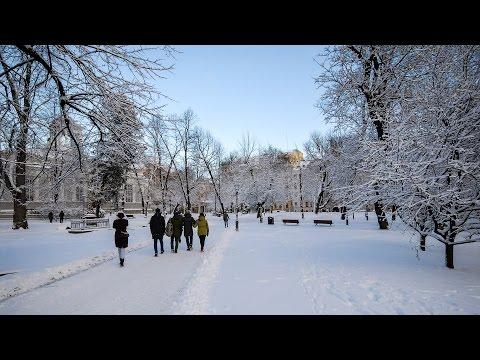 Helsinki Winter Motion Time Lapse