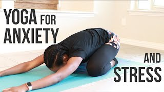 YOGA for Anxiety & Stress | Home Workout - Koboko Fitness