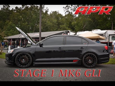 APR MK6 GLI Stage 1!