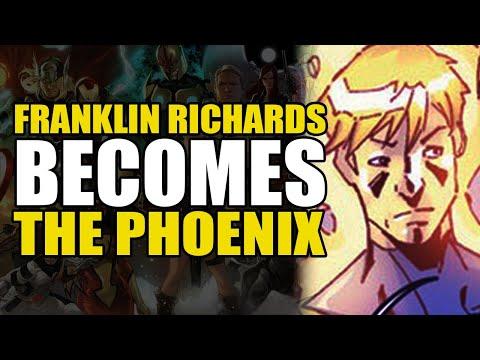 Franklin Richards Becomes The Phoenix: Ultimate X-Men/Fantastic Four Annual   Comics Explained