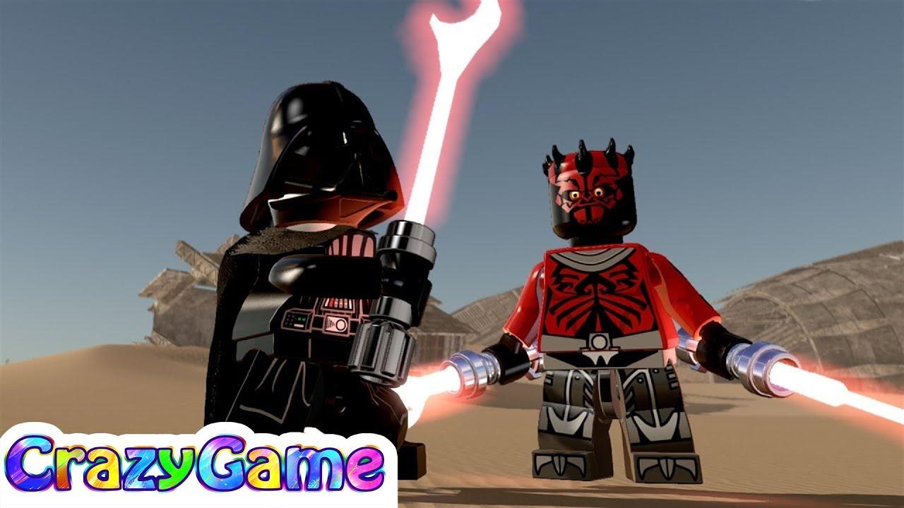 LEGO Darth Vader vs Darth Maul (Clone Wars) Free Roam - # ...